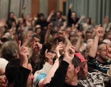 Gemeinderat Versammlung