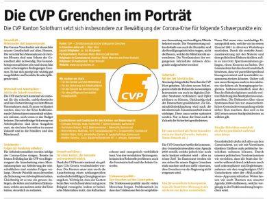 Die CVP Grenchen im Porträt